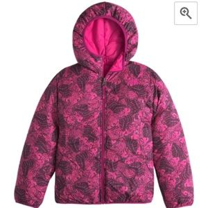 The north face big girl reversible jacket